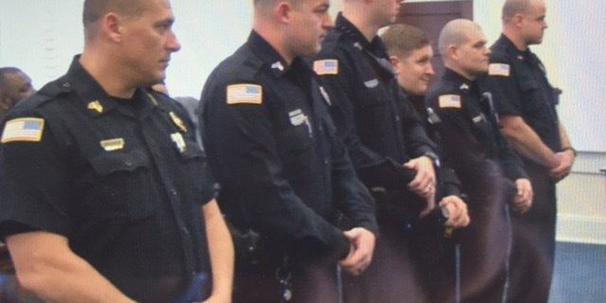 Laurel officers recognized for diffusing violent situation