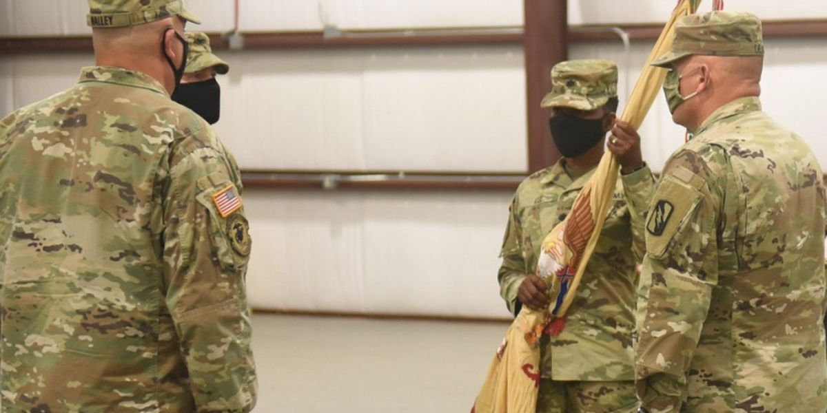 MSNG largest unit introduces first female commander