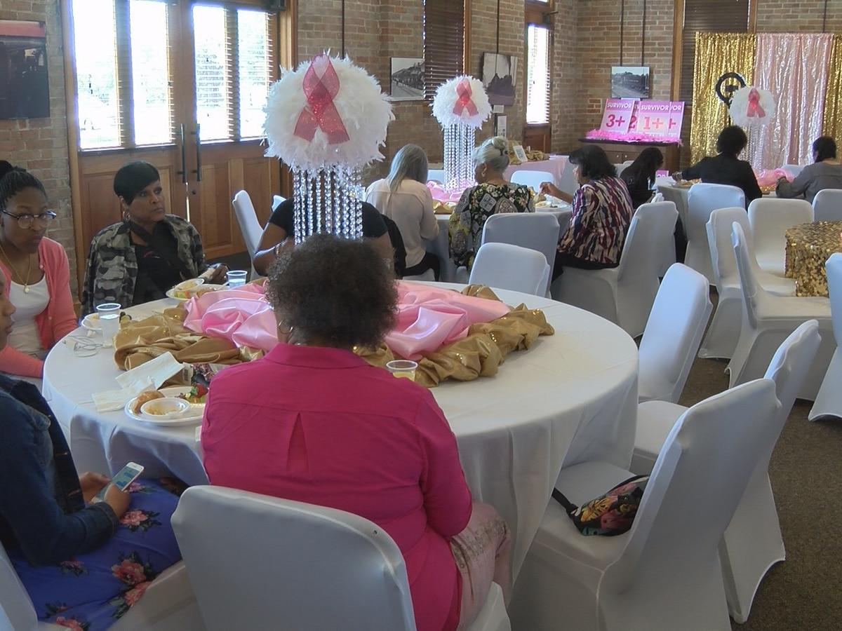 'The Pink Lady' hosts first breast cancer awareness event