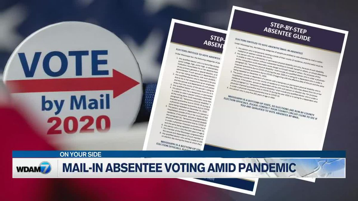 State, local officials discuss absentee voting amid pandemic
