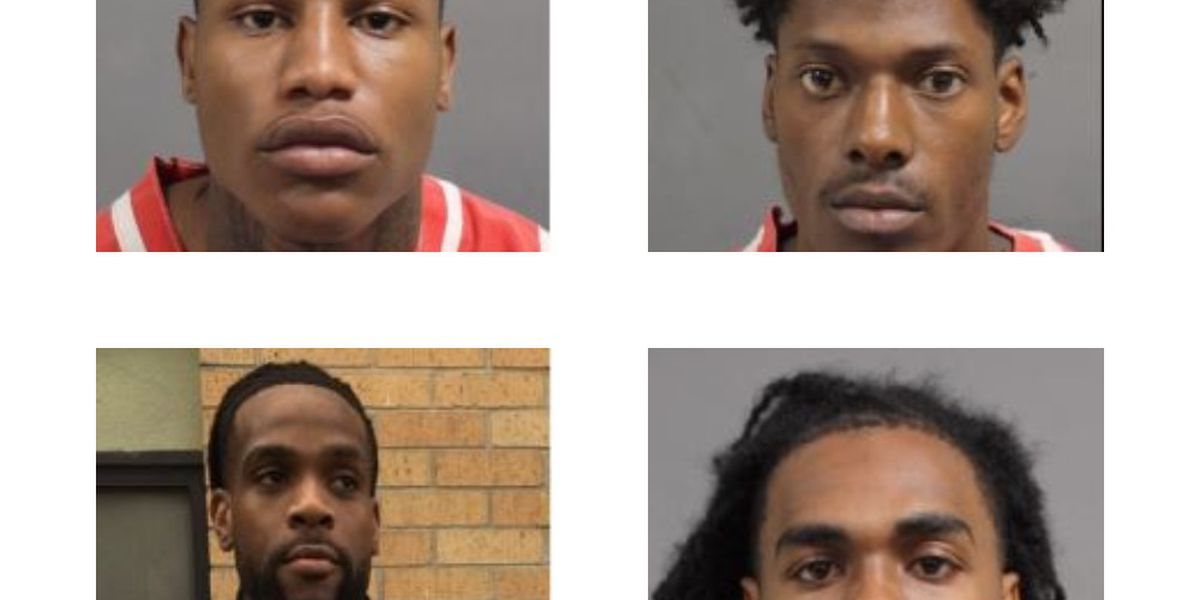Four men charged after Hattiesburg shooting