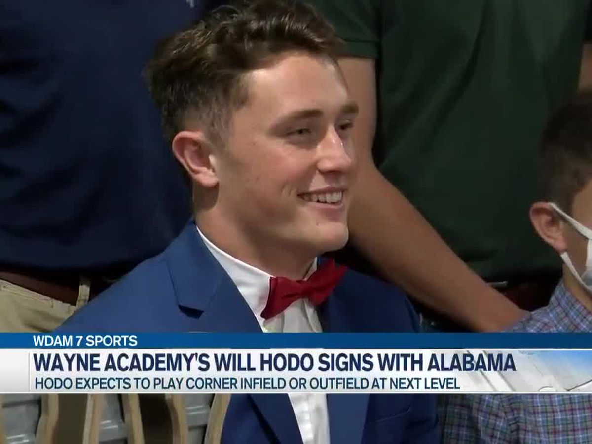 Wayne Academy's Will Hodo signs with Alabama