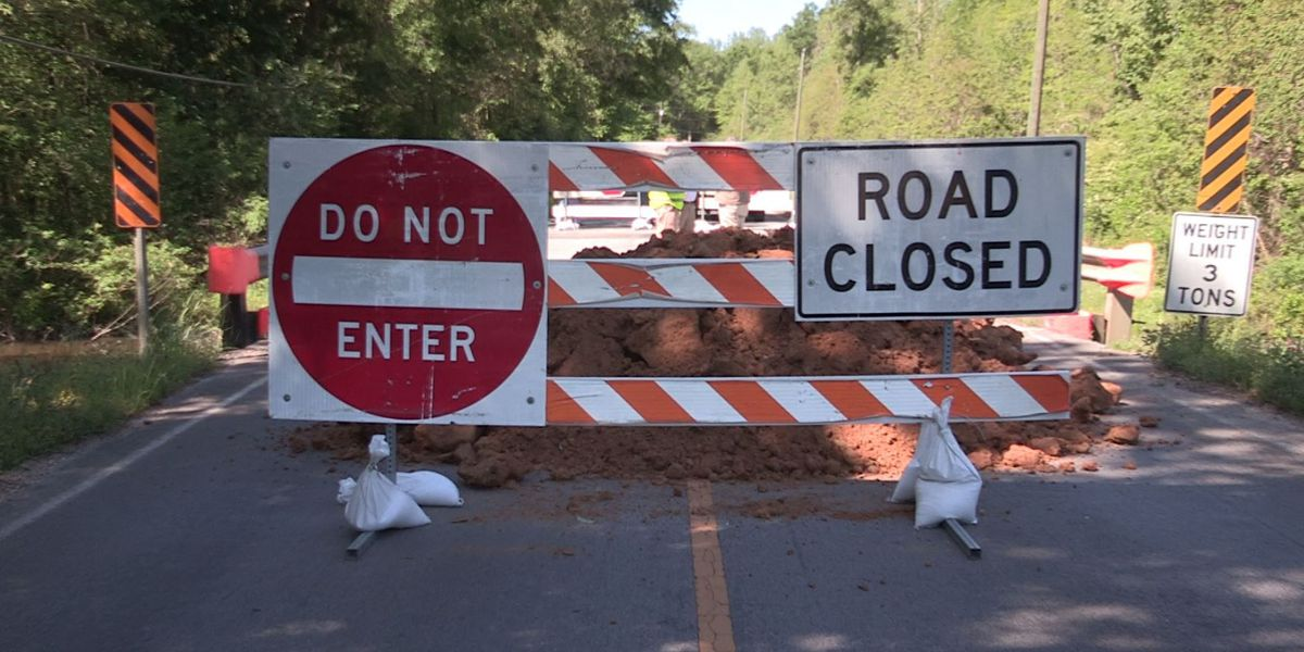 LIST: Bridges closed in Jones County