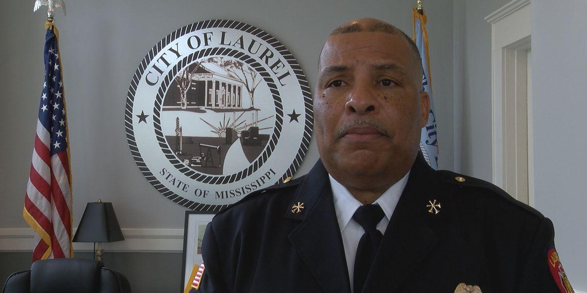 New fire chief for Laurel sworn in