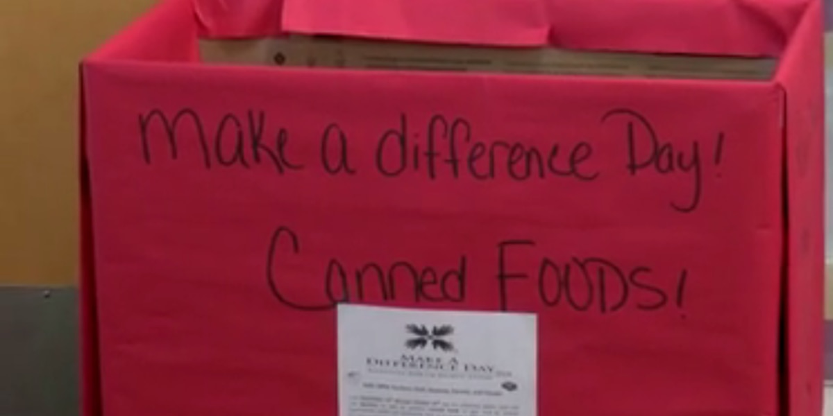 Laurel students making a difference through donations