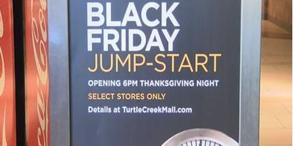 Black Friday shopping gets underway