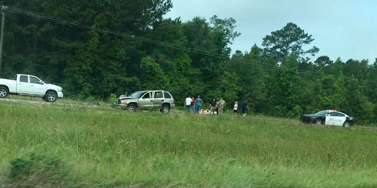 Wreck on Hwy 49 in Covington County stalls traffic