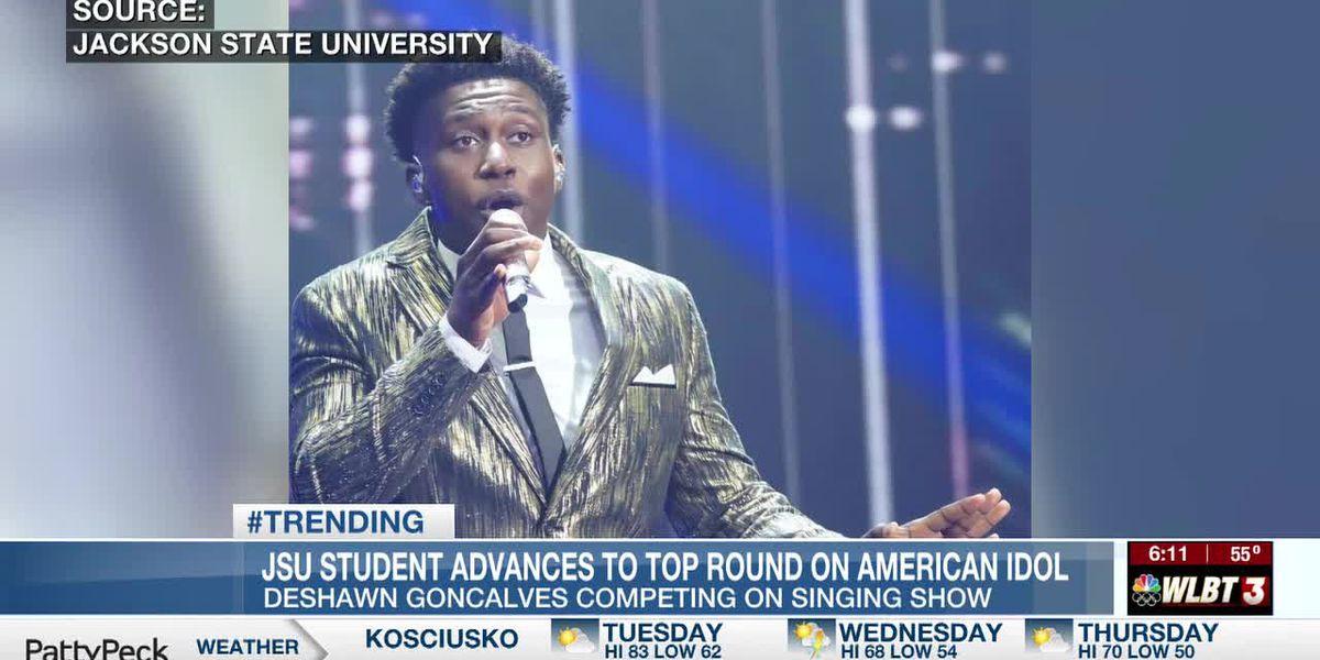 JSU student advances to top 12 on American Idol