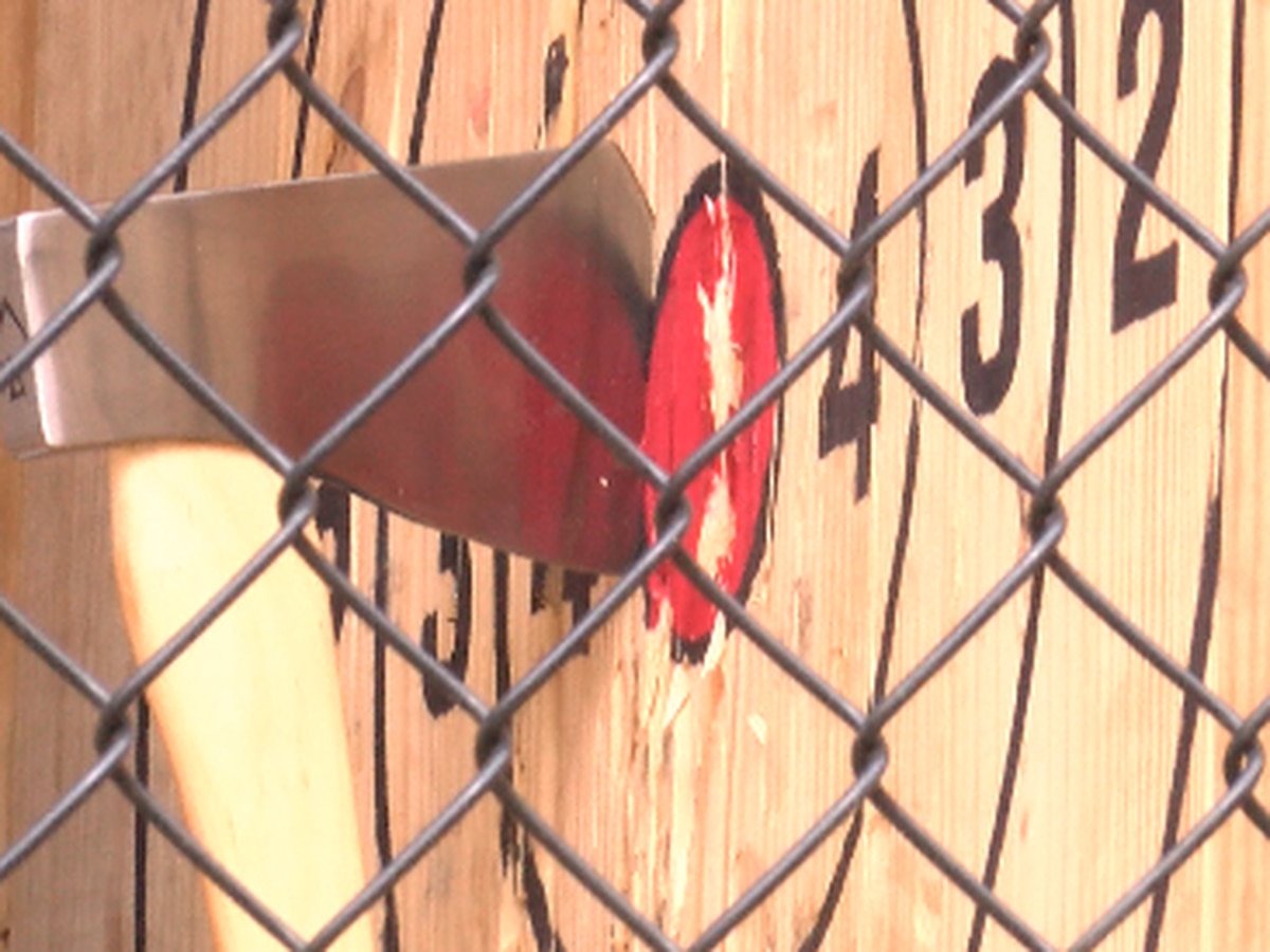 Axe throwing coming to downtown Hattiesburg