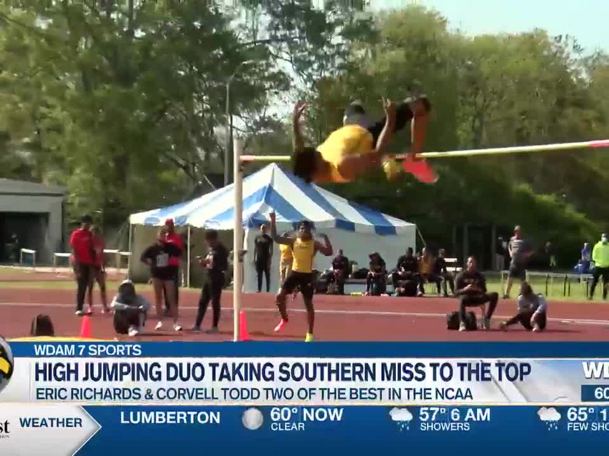 Pair of high jumpers taking Southern Miss to the top