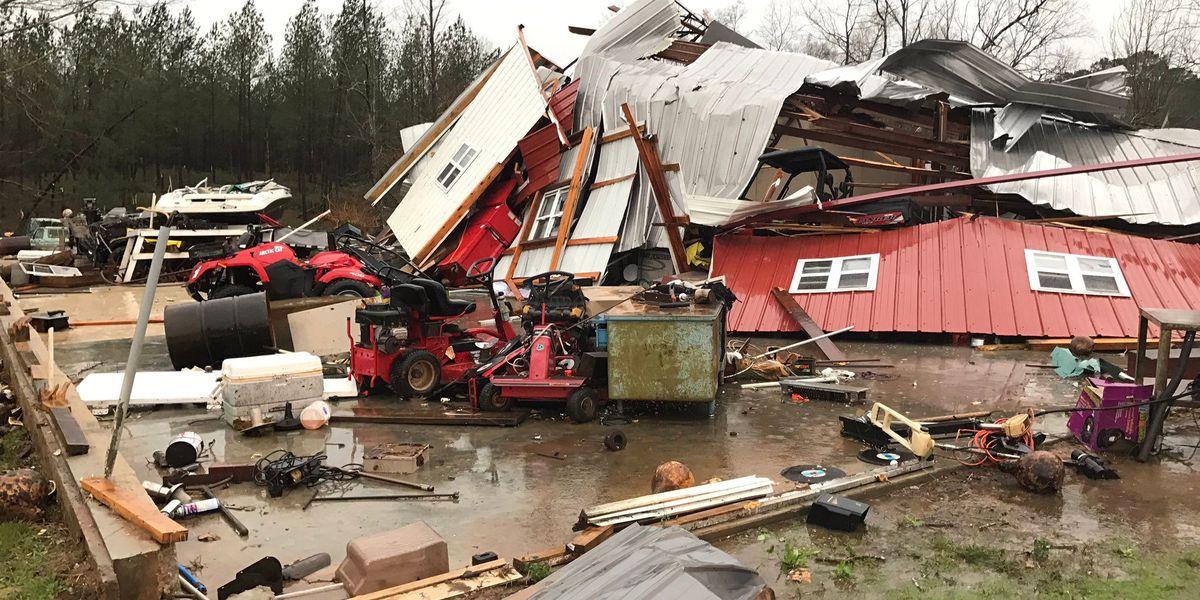 MEMA reports storm damage, power outages across Pine Belt