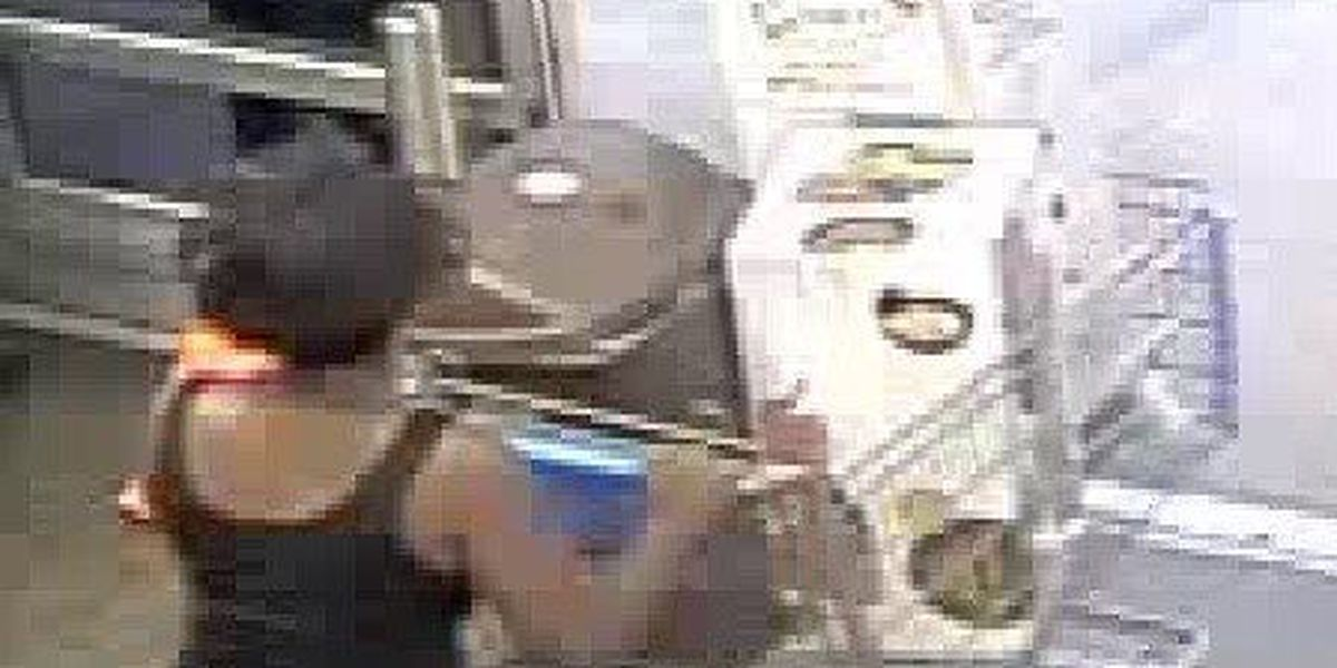 Wiggins police searching for shoplifting suspects