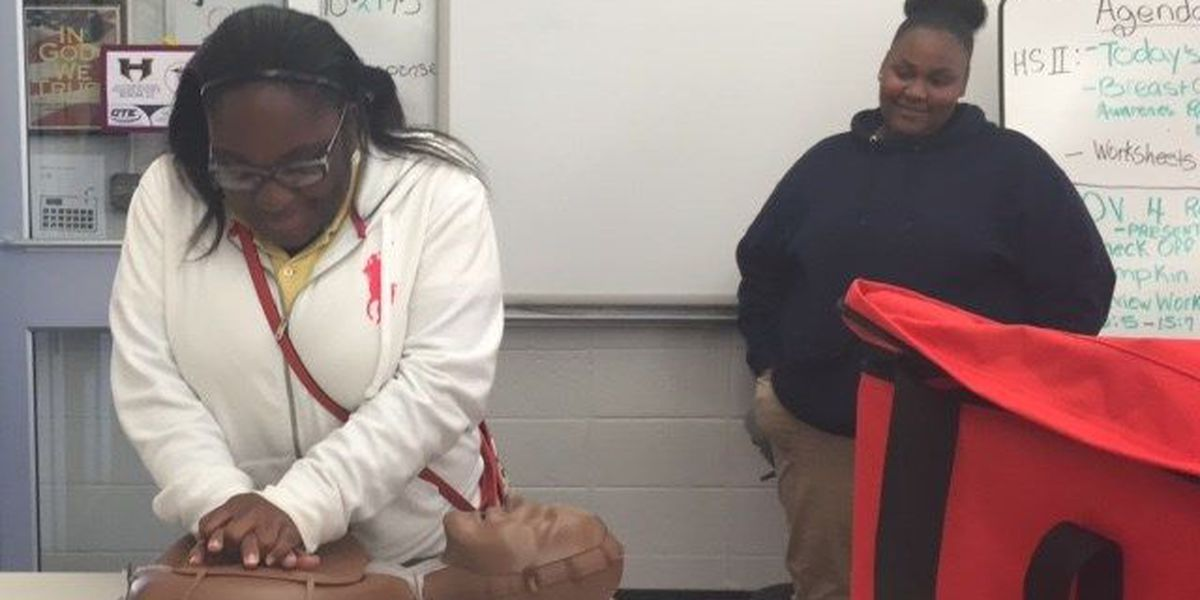 American Heart Association's CPR in schools initiative aims to reduce disparities in CPR