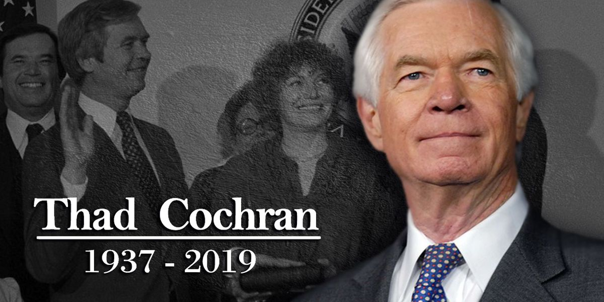 WATCH: Funeral held for former Sen. Thad Cochran in Jackson