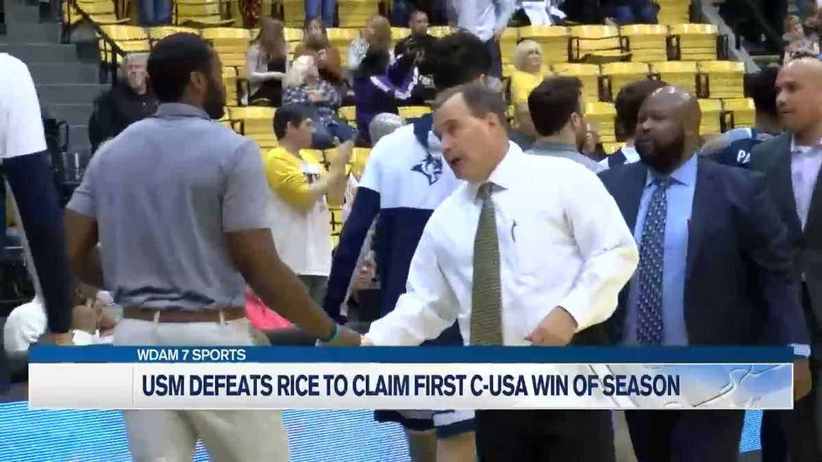 Malone's career day helps lift USM hoops over Rice