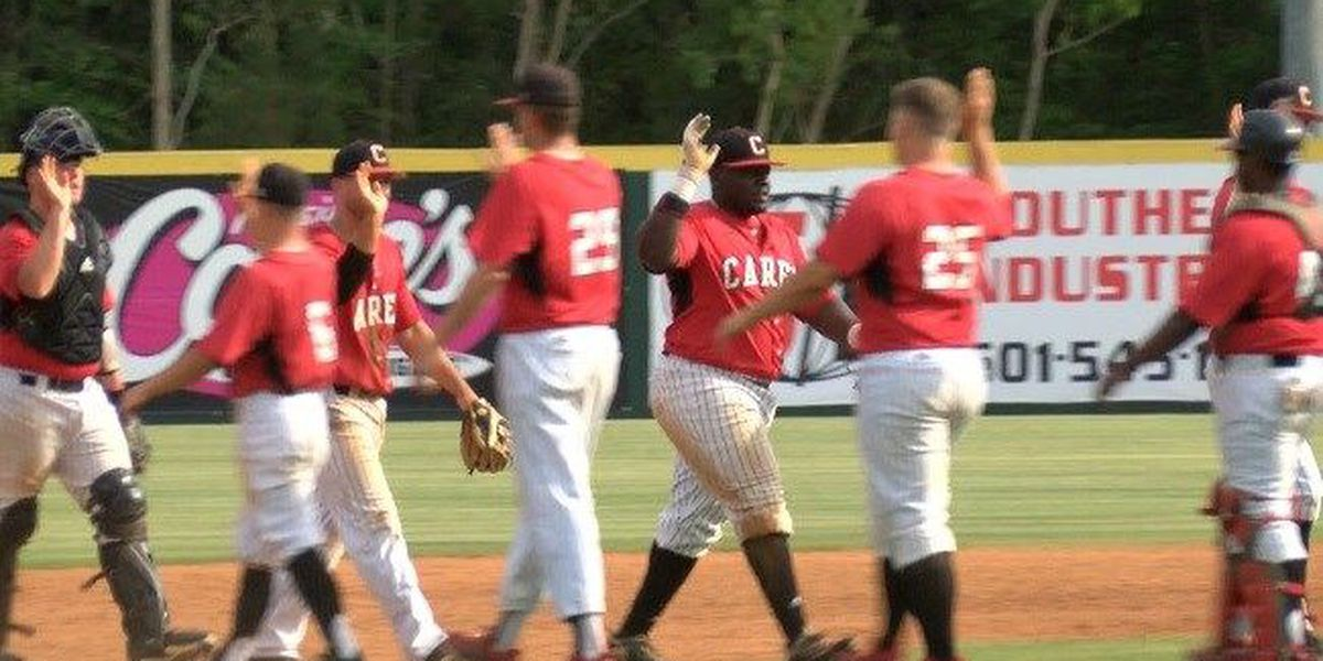 William Carey baseball tied for first in SSAC