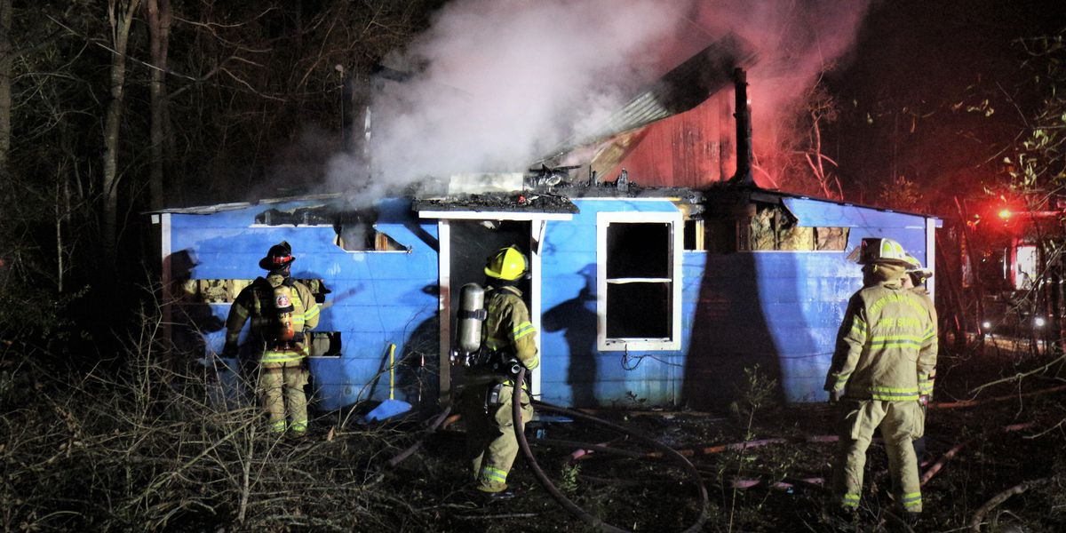 Overnight house fire marks sixth arson case on the Coast since Christmas