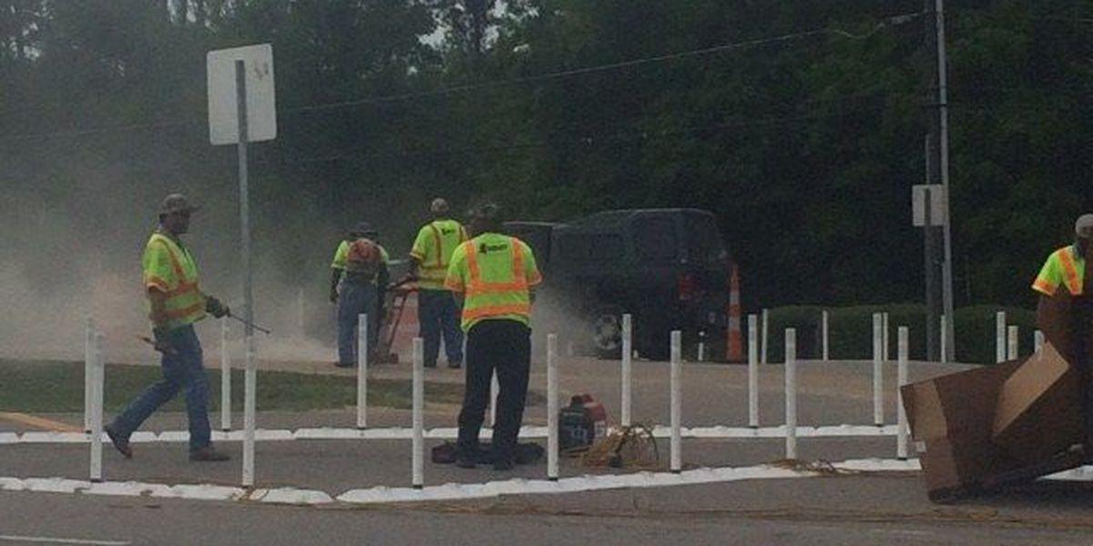 Hattiesburg intersection under construction again