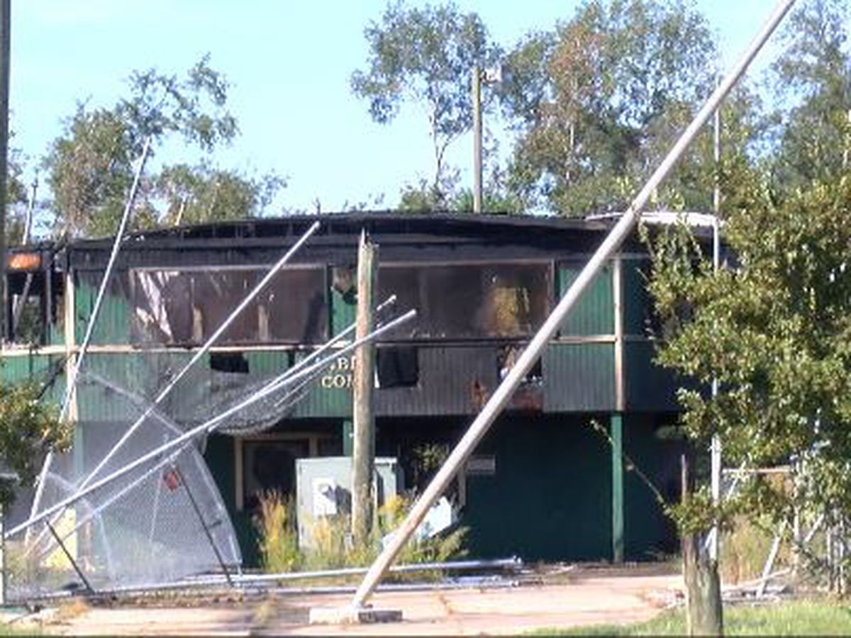 Suspicious fires at Timberton Softball Complex under investigation