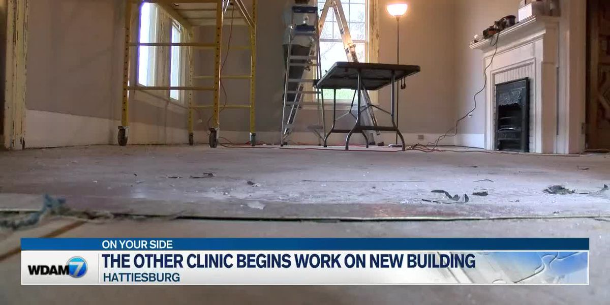 Spectrum: The Other Clinic starts work on new building in Hattiesburg