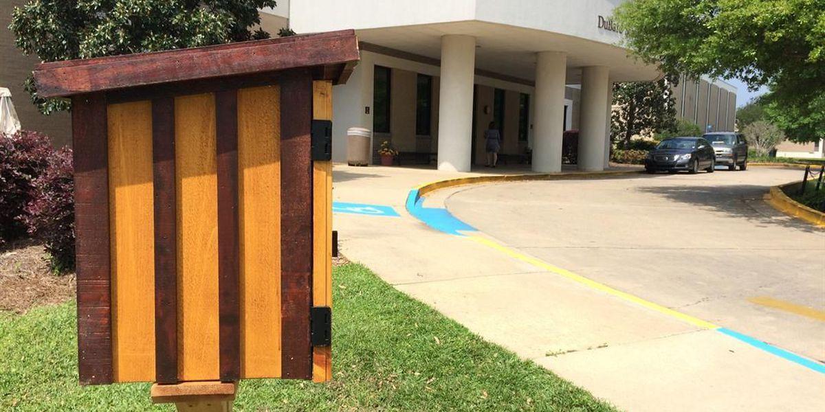 DuBard School opens Little Free Library