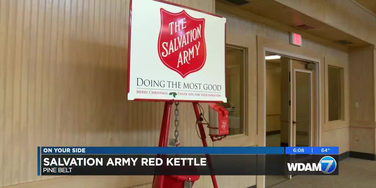 Salvation Army requests donations to meet holiday goal