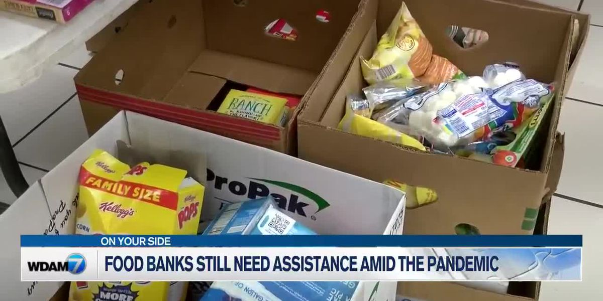 Food banks in need of assistance as pandemic continues