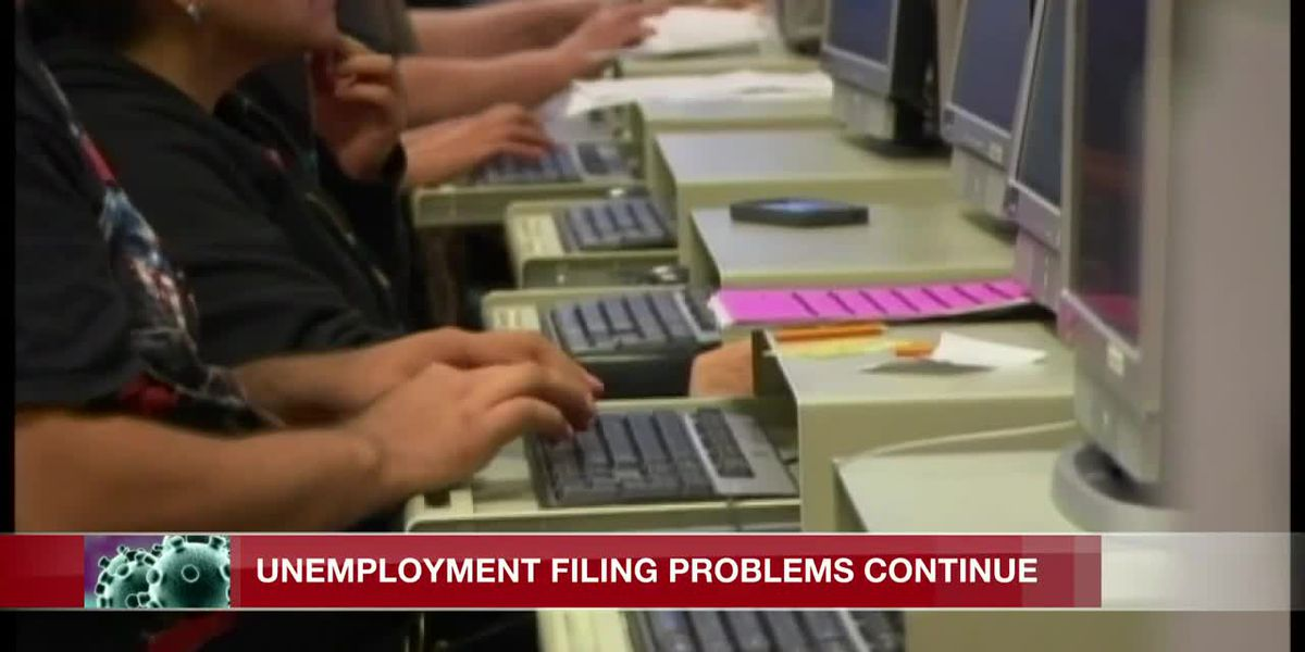 Unemployment filing problems persist despite added staff