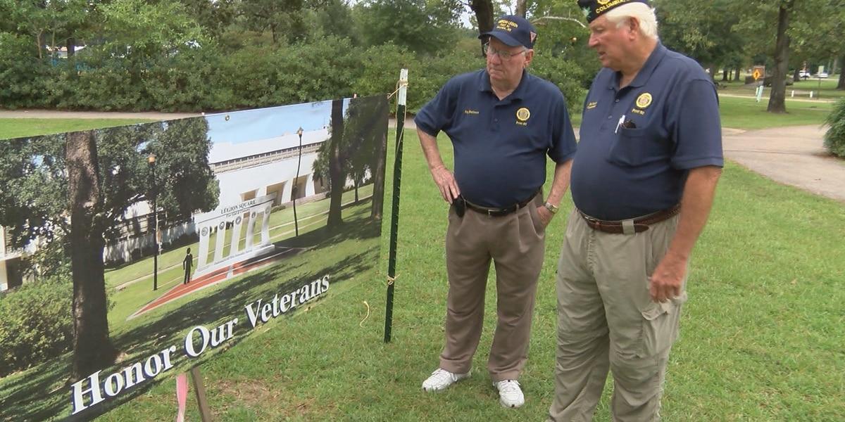 Columbia American Legion Post to break ground for new veterans monument