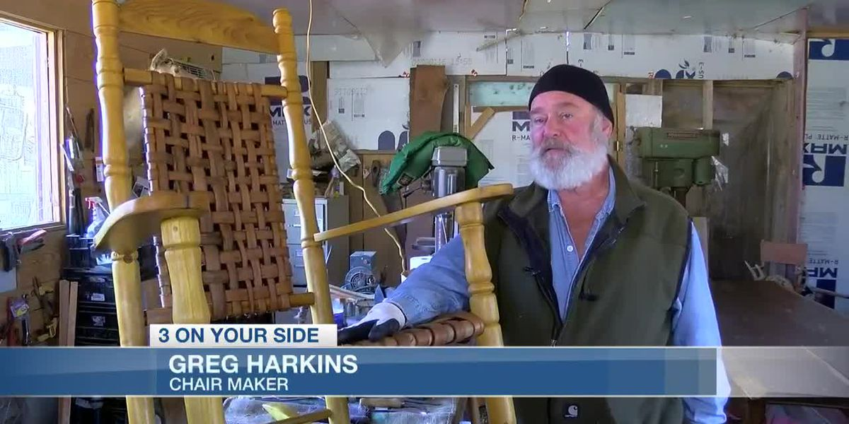 Mississippi chair-maker builds sixth chair for a U.S. president