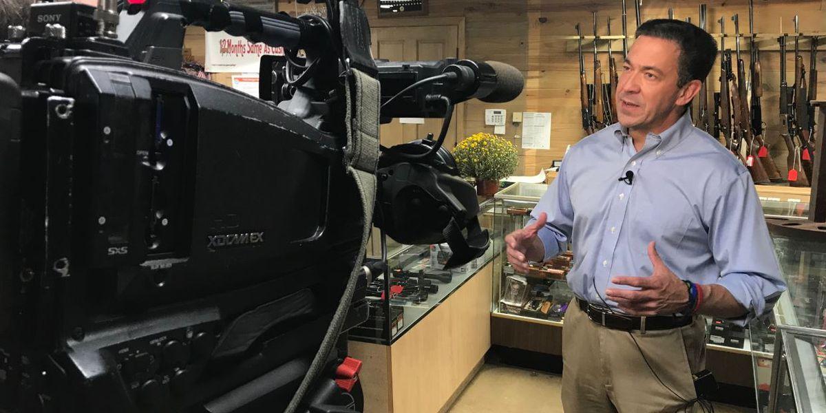 Chris McDaniel talks Second Amendment, gun rights in Ellisville