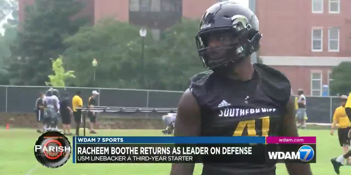 Bassfield's Racheem Boothe ready to lead USM defense