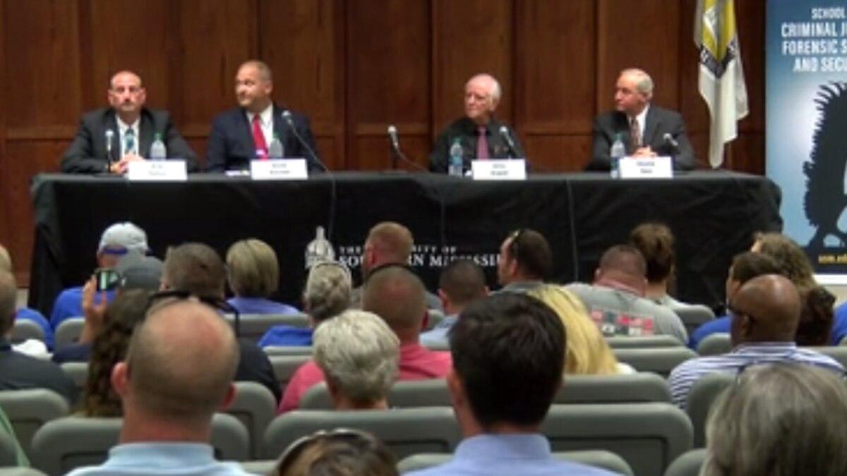 Forrest County Sheriff candidates speak at forum