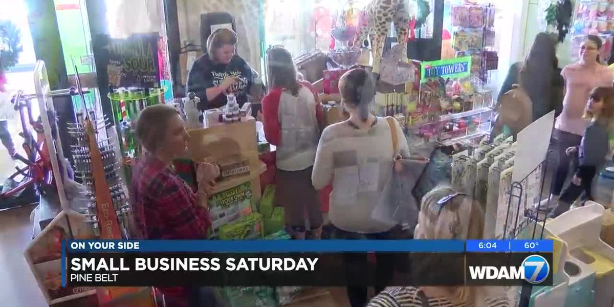Small Business Saturday in the Pine Belt