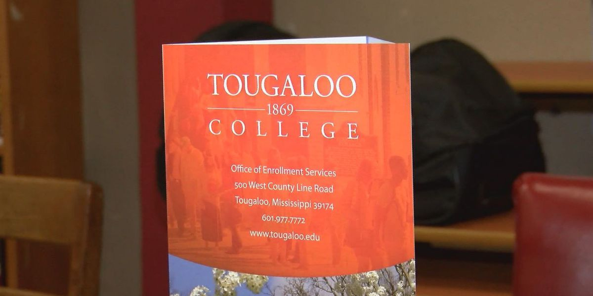 Tougaloo College visits Laurel High School
