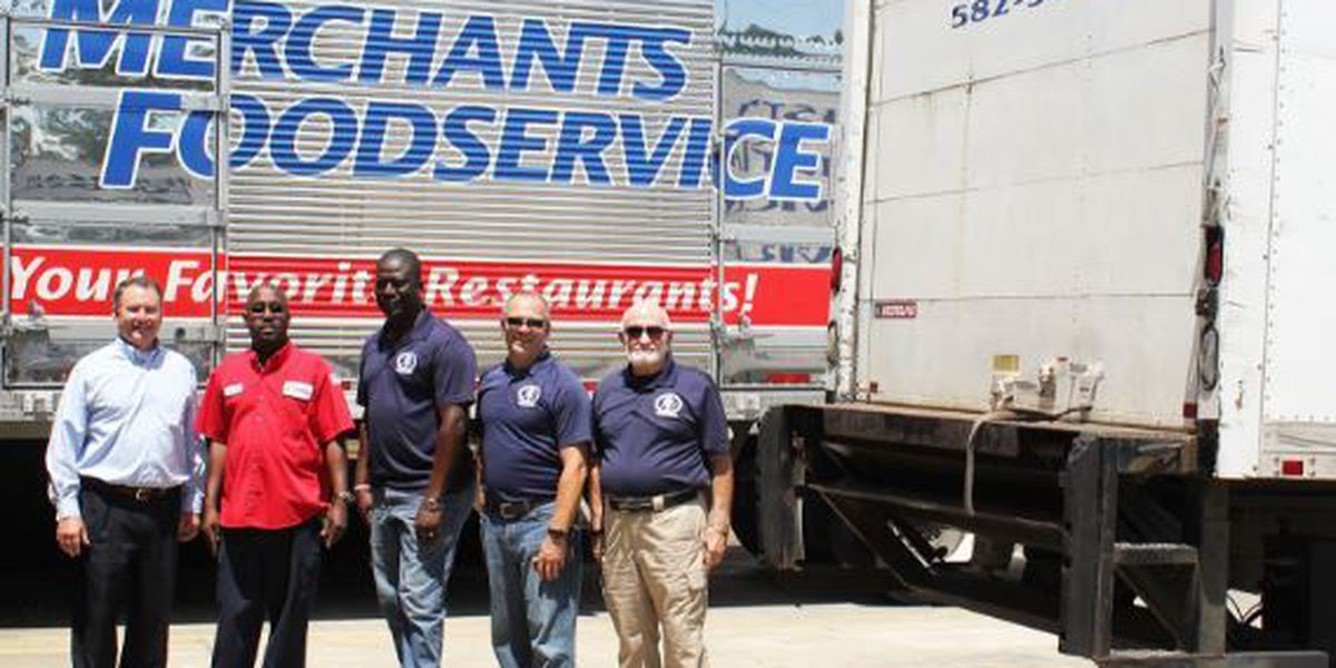 Merchants Foodservice, Christian Services provide over a million pounds of food in 30 years