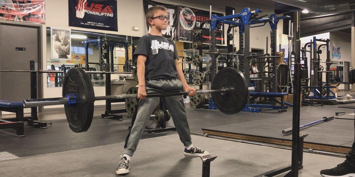 "GOOD NEWS: Oak Grove 5th grader becomes ""American Champion of USA Powerlifting"""