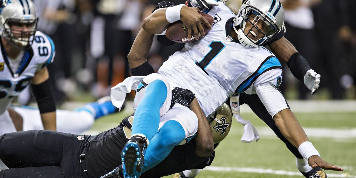 Saints hold off Panthers to secure wild playoff win, 31-26