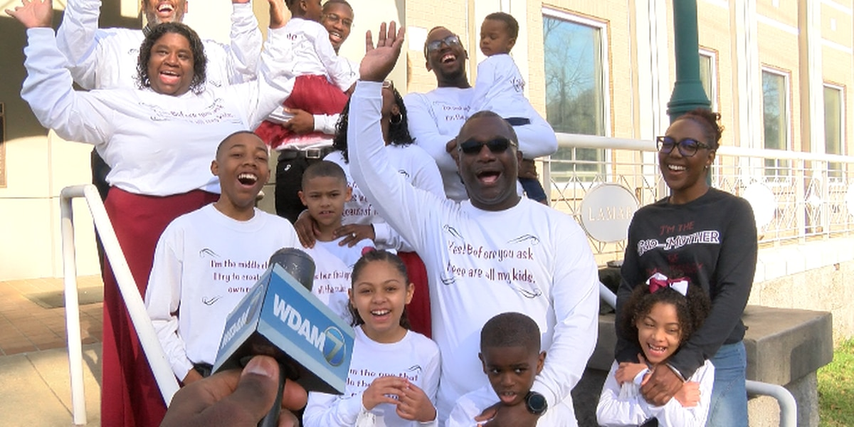 Purvis family celebrates adoption of four children after years of delay