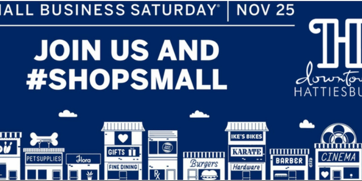 Hattiesburg residents encouraged to shop local on Small Business Saturday
