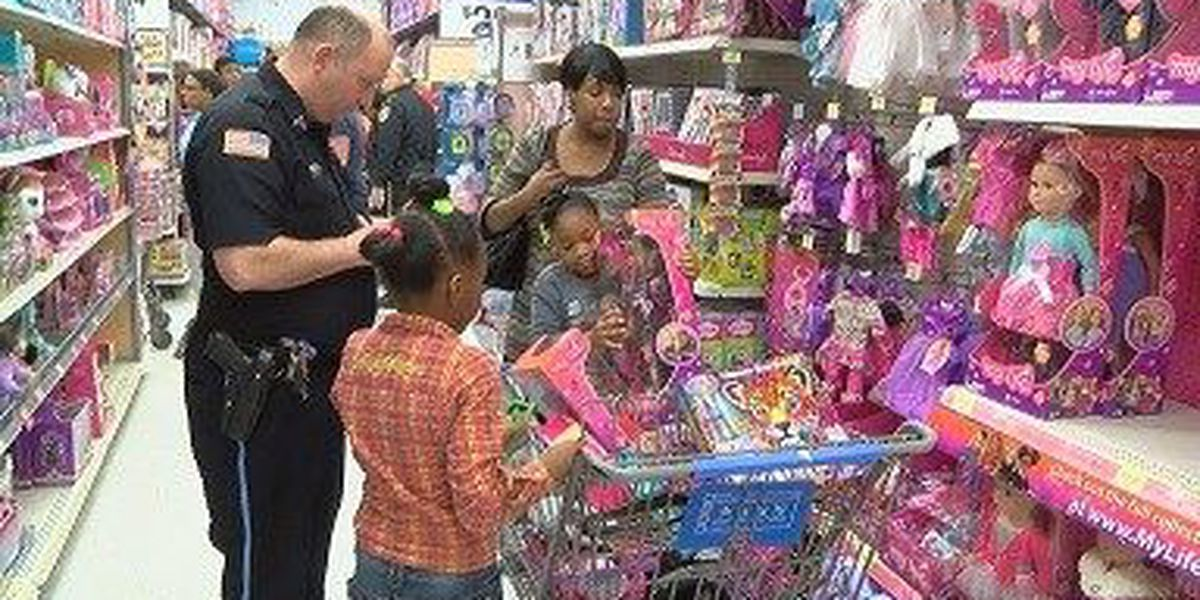 "Local police departments host ""Shop with a Cop"" events"