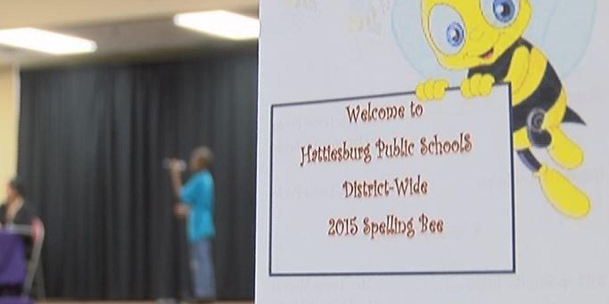 District Spelling Bee held at N.R. Burger Middle School