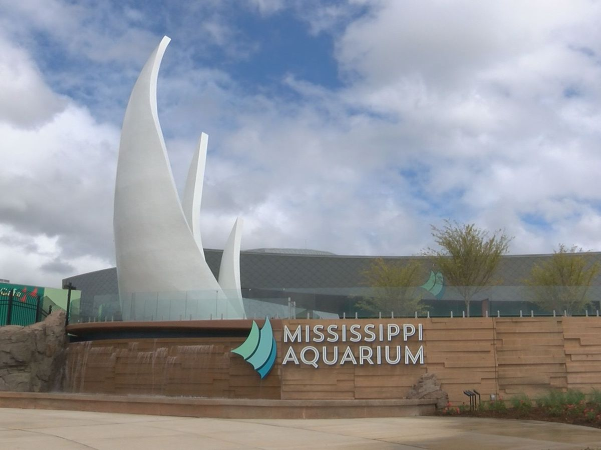 Mississippi Aquarium closed until further notice