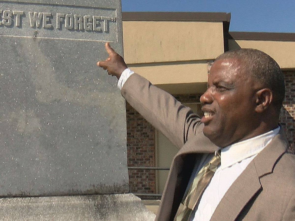Former Wayne County NAACP president supports keeping Confederate monument