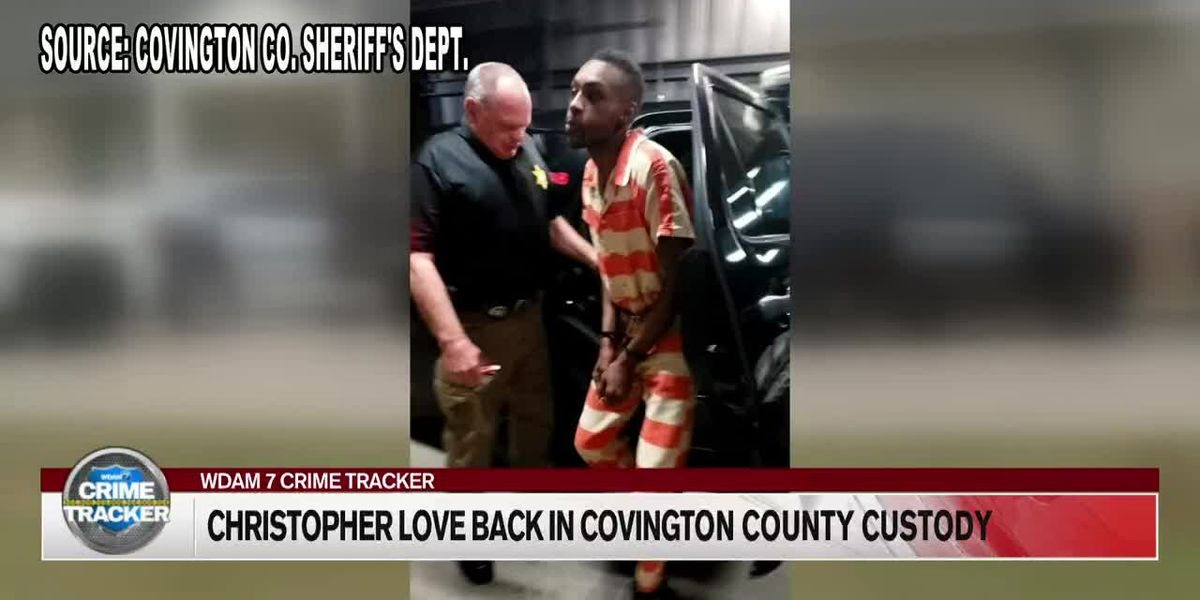 Covington County deputies return from Texas with final escaped inmate