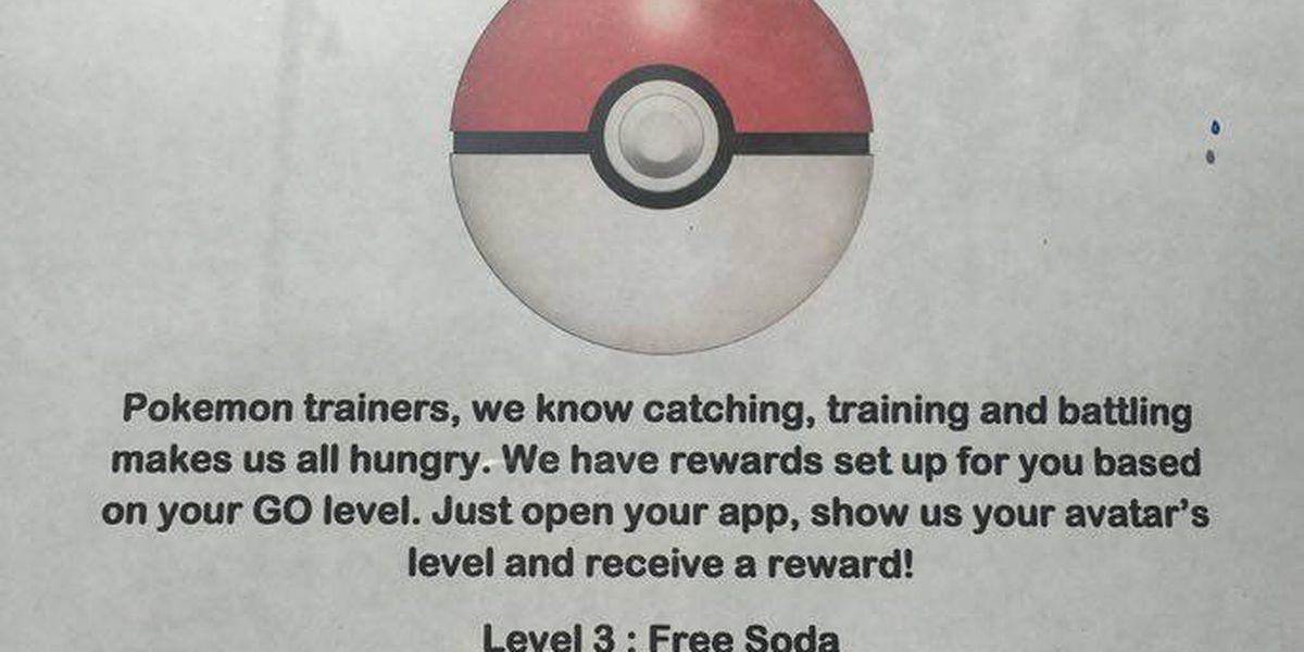 Bop's rewards local Pokemon trainers with free treats