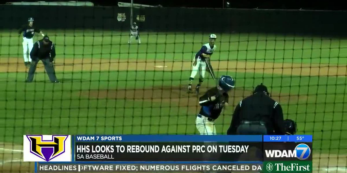 Hattiesburg looks to bounce back in midweek matchup against Pearl River Central