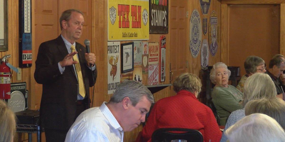Chaney gives Forrest-Lamar GOP women details of State Farm rate decrease