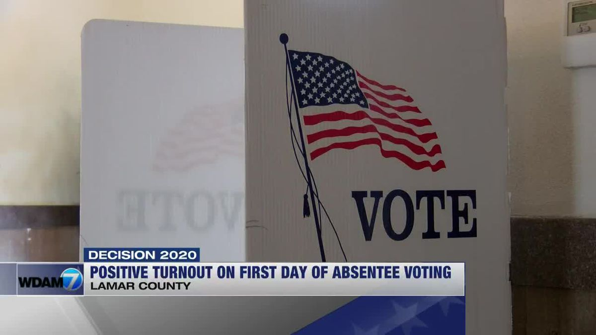 Lamar Co. circuit clerk excited about absentee voting turnout