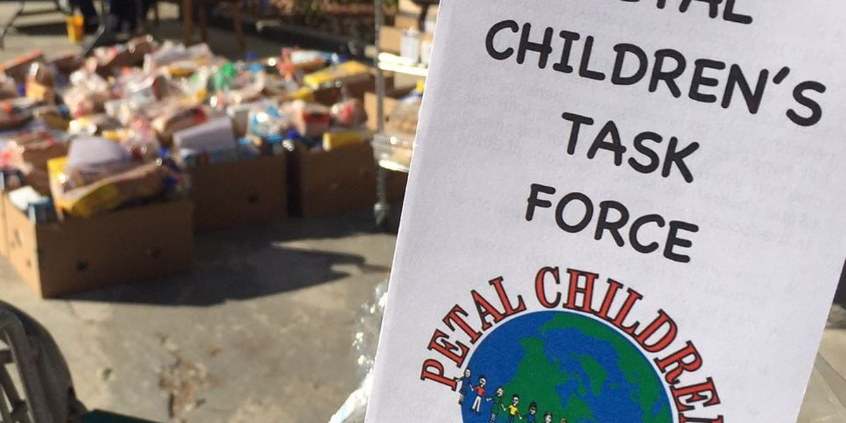 Petal Children's Task Force host annual food box giveaway